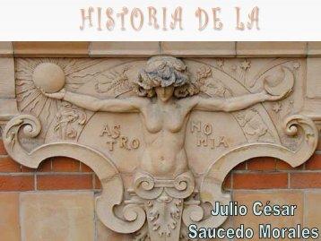 Historia de la Astronomía - Curso Básico de Astronomía Area de ...