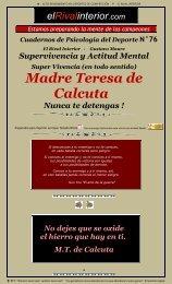 No te Detengas - Madre Teresa de Calcuta - El Rival Interior