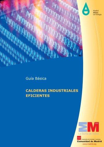 Guía Básica CALDERAS INDUSTRIALES EFICIENTES