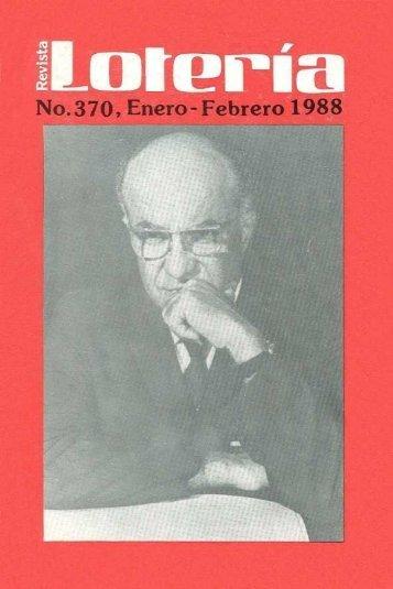 No.370, Enero- Febrero 1988