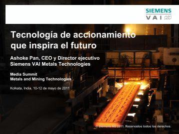 Tecnología de accionamiento que inspira el futuro Media ... - Siemens