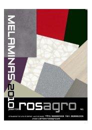 catalogo melaminas 2010-2012 - Rosagro