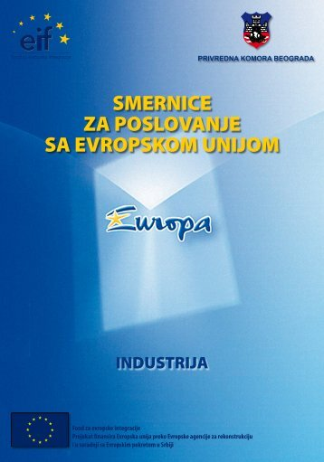 smernice za poslovanje sa evropskom unijom - Privredna komora ...