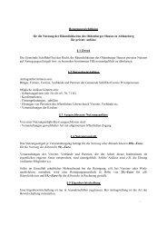 Benutzungsrichtlinien Oldenburger Haus - Schiffdorf