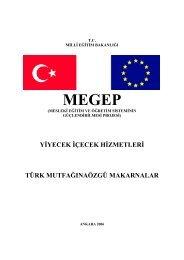 41 Türk Mutfağına Özgü Makarnalar - Milli Eğitim Bakanlığı