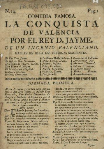 POR EL REY D. JAYME.