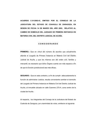 texto - Poder Judicial del Estado de Coahuila