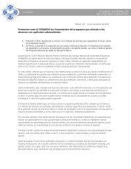 Presentan ante el CONAEDU los lineamientos del programa que ...