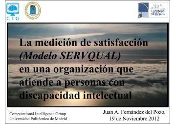 La medición de satisfacción - Universidad Politécnica de Madrid