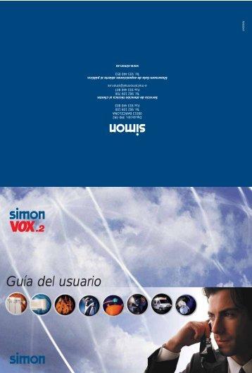 Guía del usuario - Simon