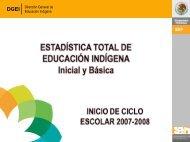 Estadísticas - Subsecretaría de Educación Básica