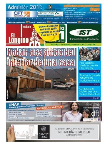Pase Escolar se puede reponer en Chile-Atiende CDI buscará el ...