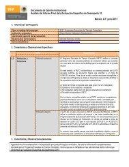 Documento de posicionamiento - Subsecretaría de Educación Básica