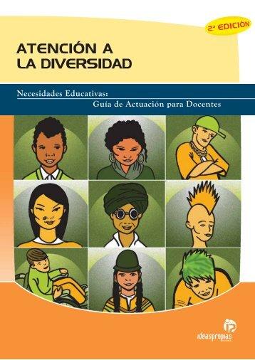 ATENCIÓN A LA DIVERSIDAD - Ideaspropias Editorial