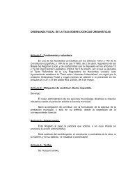Tasa sobre Licencias Urbanísticas - Ayuntamiento de Crevillent
