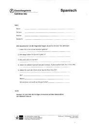 ® Einstufungstests Spanisch