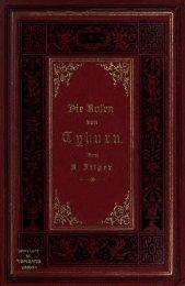 Rosen von Tyburn, Trauerspiel in fünf Aufzügen