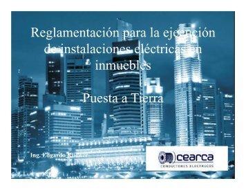 Reglamentación para la ejecución de instalaciones eléctricas en ...