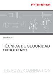 TÉCNICA DE SEGURIDAD Catàlogo de productos - Pfisterer