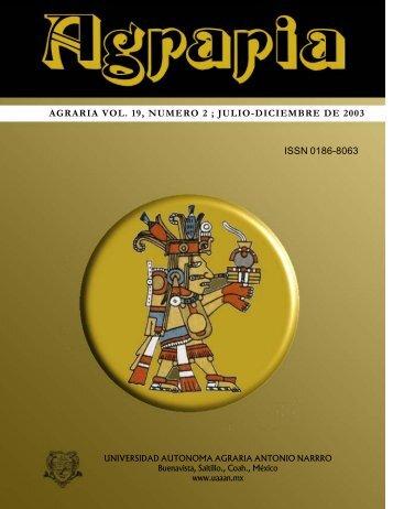 Agraria, Vol. 19, num_02, julio a diciembre 2003.pdf
