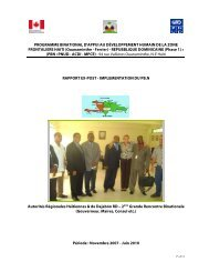 Plan de Redaction Rapport Definitif PBN 2010 - United Nations ...
