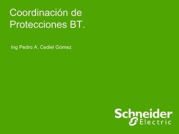 Coordinación de Protecciones BT - Schneider Electric