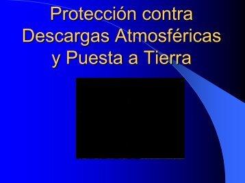 Proteccion contra Descargas Atmosféricas y Puesta a Tierra Ing ...