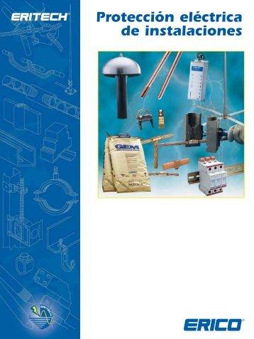 Protección Eléctrica de Instalaciones Catálogo (Europa) - Erico