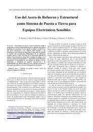Uso del Acero de Refuerzo y Estructural como Sistema de Puesta a ...