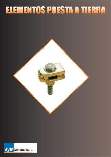 Elementos puesta a tierra - JyM Materiales srl