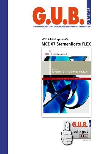 G.U.B. Analyse MCE 07 Sternenflotte FLEX