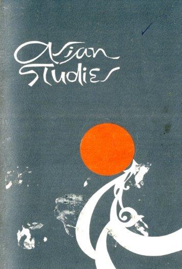 Vol. 05 No. 1, 1967.tif - Asian Studies | University of the Philippines