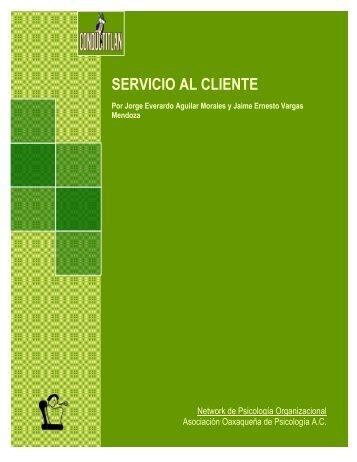 SERVICIO AL CLIENTE - Conductitlan