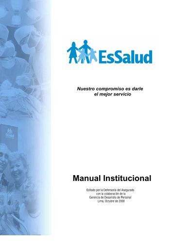 Manual Institucional - EsSalud