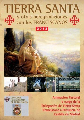 -105084.Folleto Tierra Santa con los Franciscanos - Familias ...