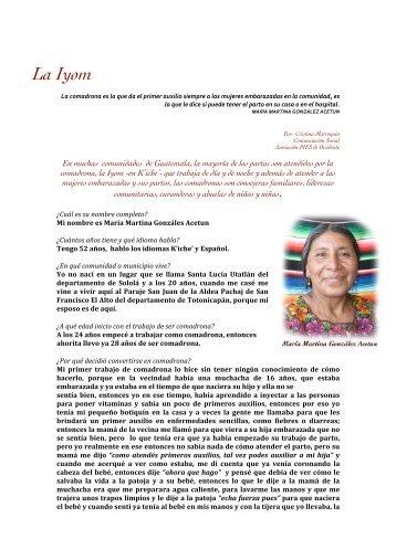 Comadrona Magazines