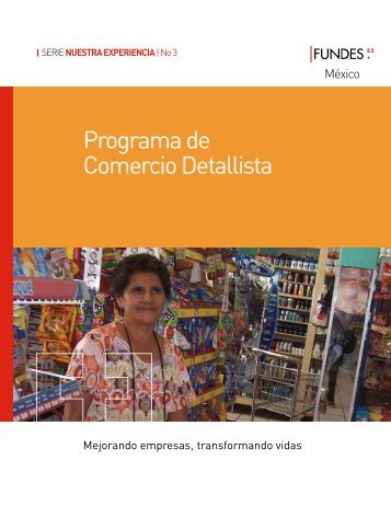 Programa de Comercio Detallista - Fundes