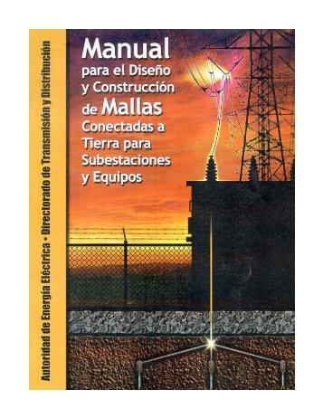 Manual para el Diseño de Mallas Conectadas a Tierra para ...