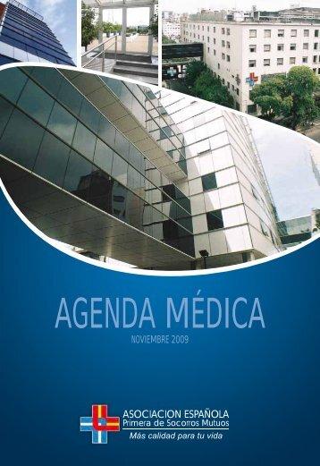 AGENDA MÉDICA - Asociación Española