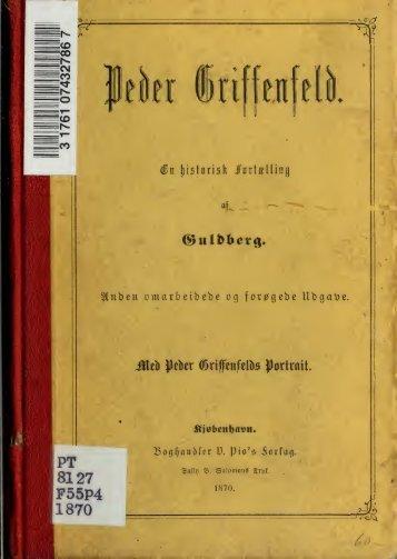 Peder Griffenfeld : en historisk fortaelling