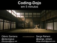 Coding Dojo with Java 7 - Oracle