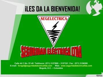 Presentación Seguridad Eléctrica LTDA.
