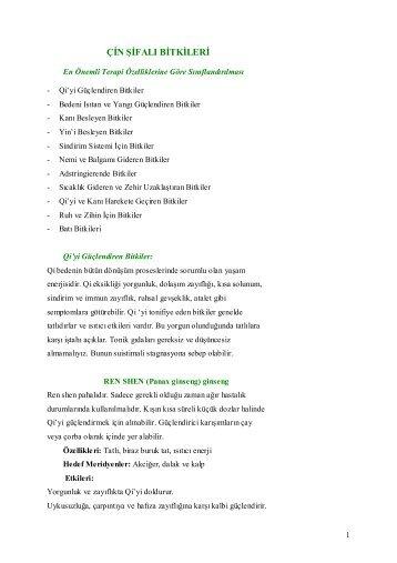 çin şifalı bitkileri - Akupunktur