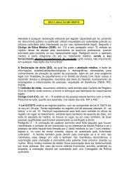Med. Legal - Declaração de Óbito - sismepe