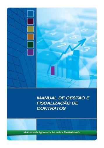 manual de gestão e fiscalização de contratos - Ministério da ...