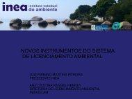 novos instrumentos do sistema de licenciamento ambiental - Anamma