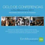 Folleto del Ciclo de Conferencias Abiertas 2011