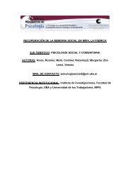 abrir - Congreso Marplatense de Psicología 2011