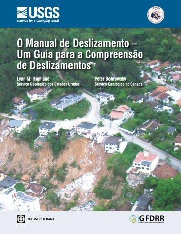 O Manual de Deslizamento – Um Guia para a ... - GFDRR