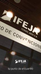 Descargue el folleto informativo - Centro de Convenciones de Jaén